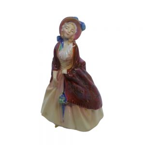 Royal Doulton Figure, Paisley Shawl, HN1988