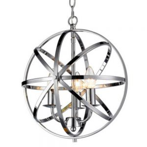 Besca Pendant Light in Polished Chrome