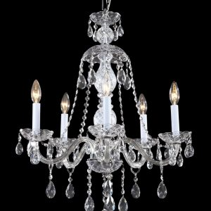Bohemia Crystal Chandelier, 5 Lights.