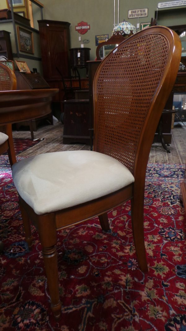 dining table, four chairs, chair