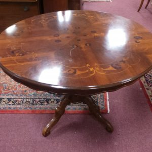 Round Table with Inlay