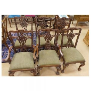 Set of Antique Chippendale Chairs