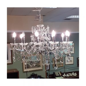 Toledo Crystal Chandelier with 12 Lights
