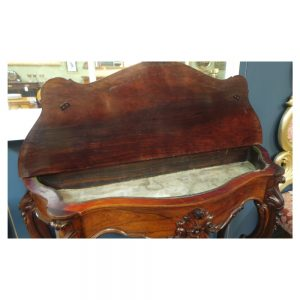 Victorian Console Table / Planter in Rosewood