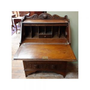 Oak Drop Down Bureau Desk