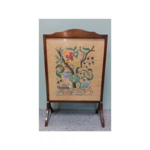 Tapestry Fire Screen