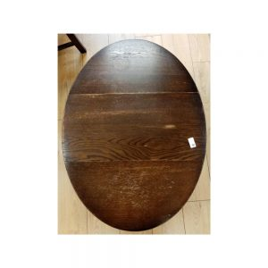 Drop-Leaf Oval Occasional Table