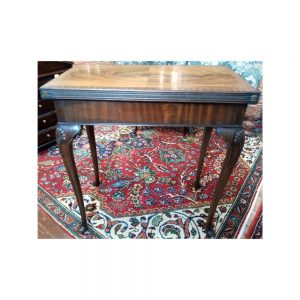 Edwardian Mahogany Console Card Table