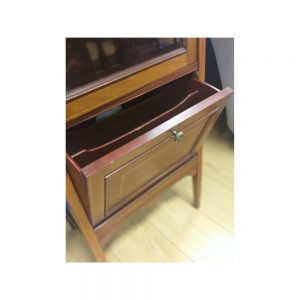 Edwardian Mahogany Inlaid Music Cabinet
