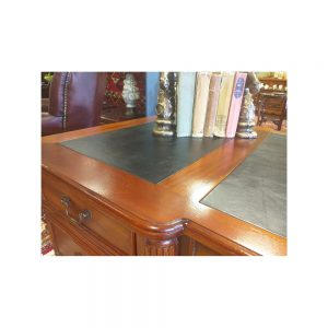 Reproduction Mahogany Partners Desk