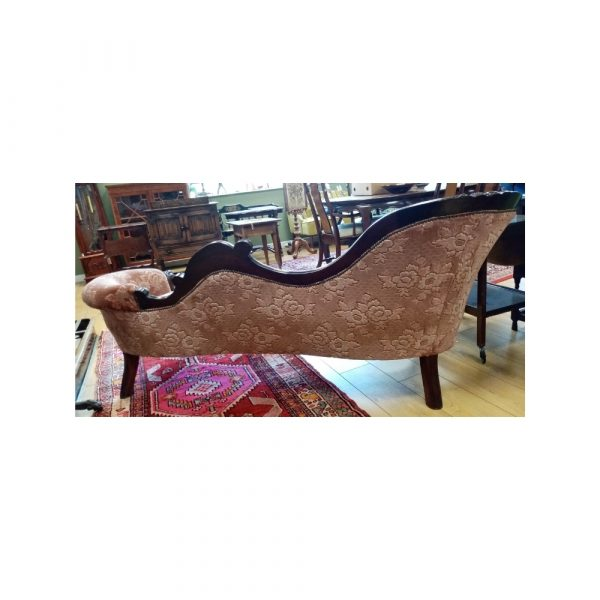 Victorian Chaise Longue Back
