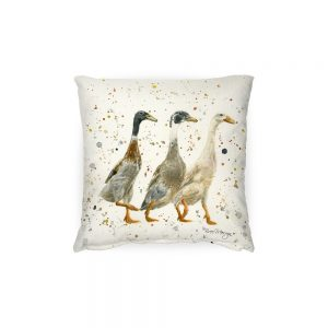 The Three Duckgrees – Feather Cushion
