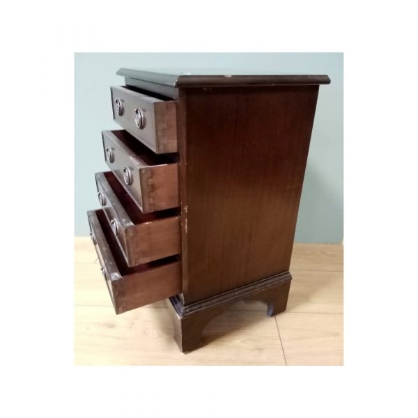 Neat chest of four drawers
