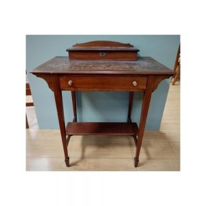 Neat Leather Top Desk