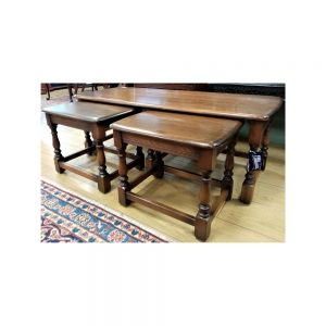 Ercol Trinity Nest of Tables